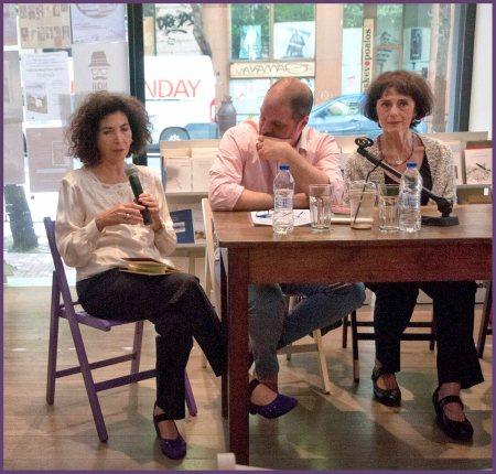 Η συγγραφέας Σόνια Ζαχαράτου αναφέρεται στον noir θεατρικό μονόλογό της με τίτλο