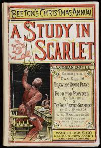 Holmes - A study in scarlet